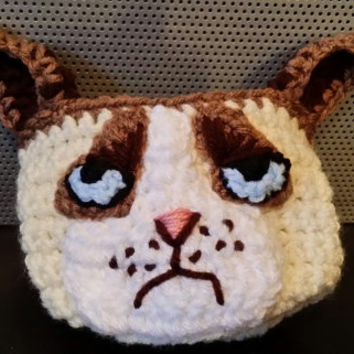 Angry Cat Cup/Mug Cozy