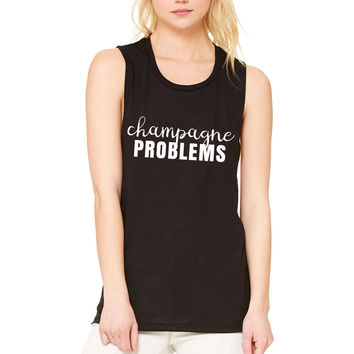 "Nick Jonas ""Champagne Problems"" Muscle Tee"