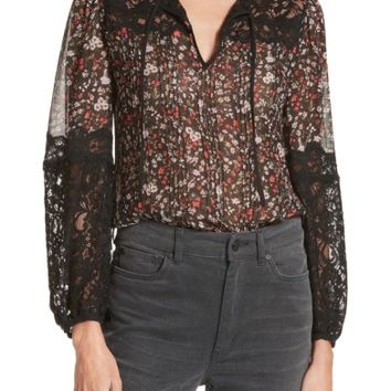 Rebecca Taylor Lyra Lace Top   Nordstrom