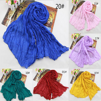 2017 Summer Sunscreen American and Europe Candy Hot head scarf women's shawls and scarves india ladies female scarves headband