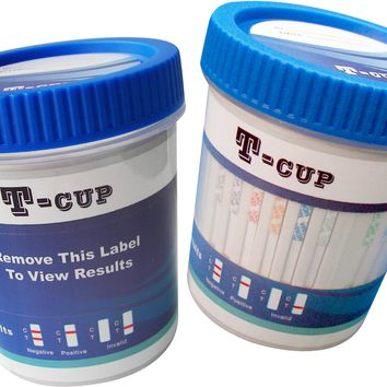 (25) 6 Panel Drug Test Cup - FDA Approved - CLIA Waived