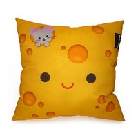 FREE SHIPPING  Yummy Cheese  Deluxe Pillow by mymimi on Etsy