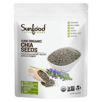 Sunfood Superfoods Raw Organic Chia Seeds - 16 oz