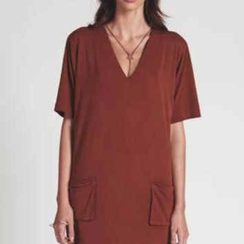 ONE TEASPOON | Buffalo Slouchy Dress - Copper