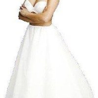 New A-Line Full Bridal Petticoat Crinoline Wedding Gown Slip (106DS) $44.95