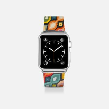 Varsha ikat pop apple watch band Apple Watch Band (38mm) by Sharon Turner | Casetify