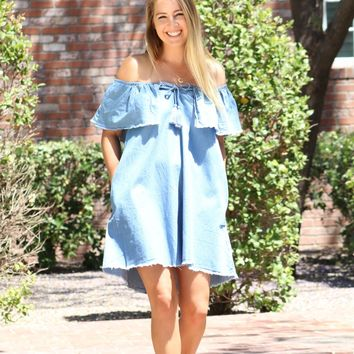 The Leah Off The Shoulder Dress
