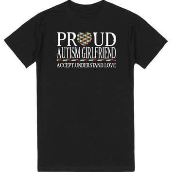 Proud Autism Girlfriend Autism Awareness