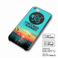 5 Seconds of Summer meadow logo (5sos) iPhone case 4/4s, 5S, 5C, 6, 6 +, Samsung Galaxy case S3, S4, S5, Galaxy Note Case 2,3,4, iPod Touch case 4th, 5th, HTC One Case M7/M8