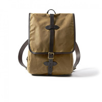 FILSON TIN CLOTH BACKPACK - 2 COLORS - TAN & BLACK