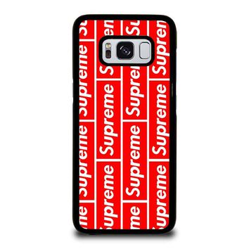 SUPREME 1 Samsung Galaxy S8 Case Cover