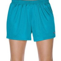 Champion Authentic Womens Mesh Shorts With Roll Down Waist | 7791 | Champion