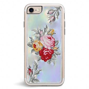 Bouquet Embroidered iPhone 7/8 Case