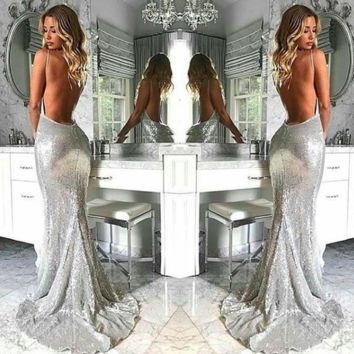 Vanisha Sequin Maxi Gown