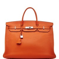 Heritage Auctions Special Collection Hermes 40Cm Orange H Togo