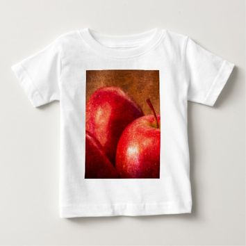 Three Red Apples Baby T-Shirt