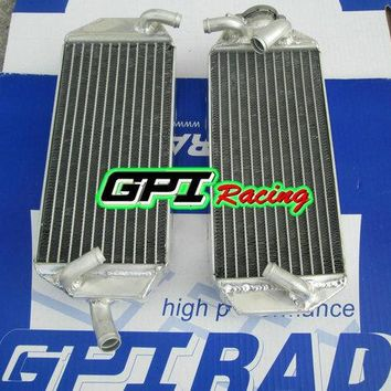 GPI aluminum racing  Radiator for SUZUKI RM250 RM 250 99 00 1999 2000