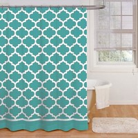 Mainstays Fretwork Shower Curtain - Walmart.com