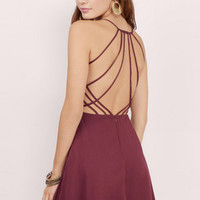 Heart Strings Flare Dress $40