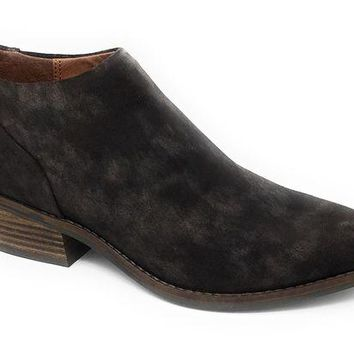 DCCKAB3 Lucky Brand Fai Bracken Suede Leather Booties