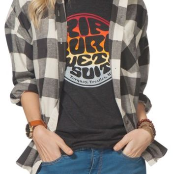 Rip Curl Marli Flannel Top | Nordstrom