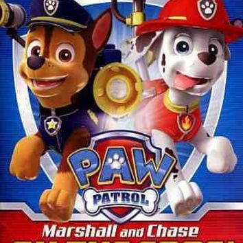 Paw Patrol-Marshall & Chase On The Case (Dvd)