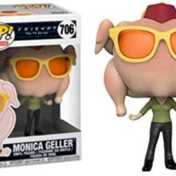 Funko POP! TV Friends - Monica with Thanksgiving Turkey (Target Exclusive) Vinyl Figure # 706