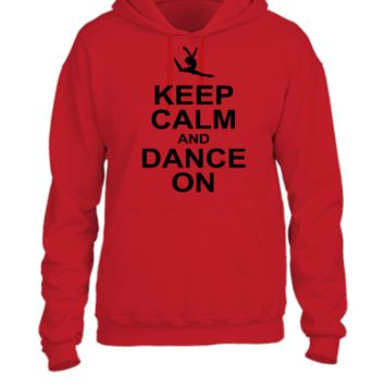 keeep calm and dance on - UNISEX HOODIE