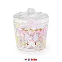 Sanrio My Melody Glitter Acrylic Canister Jewelry Multi Purpose Jar : My Melody $7.49