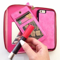 Ultimate Wallet Case in Pink