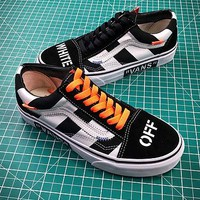 Off White X Vans Vault Og Style 36 Style 2 Low Canvas Shoes - Best Online Sale