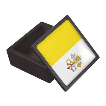 Vatican City Flag Premium Gift Box