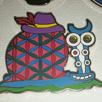 spongebob shpongle gary hat pin