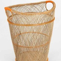 Kamrai Neon Trashcan- Bright Orange One
