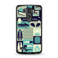 Supernatural Collage Art LG G3 case