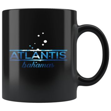 Bahamas Atlantis, Beach, Sea and Sun Underwater Mug - Bahamas Atlantis Coffee Mug, Drink from this 11oz Shiny Ceramic Mug