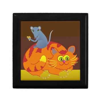 Cat & Mouse Gift Box