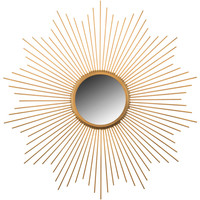 Gold Metal Starburst Wall Mirror | Hobby Lobby