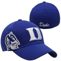 Top of the Duke Blue Devils Buster T.C. Flex Hat - Royal Blue