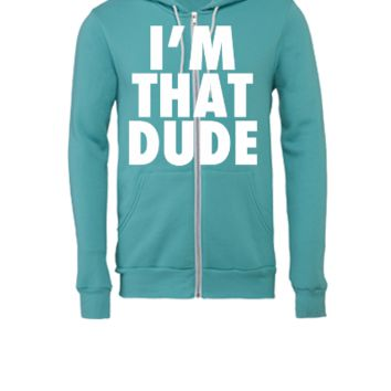 I'm That Dude Nike Funny Design - Unisex Full-Zip Hooded Sweatshirt