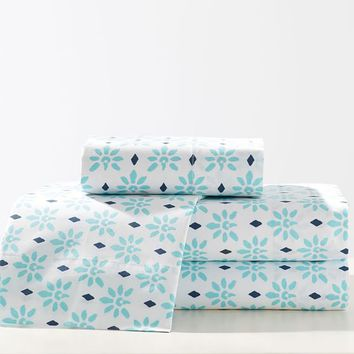 Lennon & Maisy Bohemian Blockprint Sheet Set