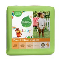 Seventh Generation Free and Clear Baby Diaper Value Pack, Stage 4, 135 Count   deviazon.com