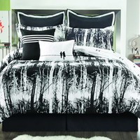 Sunset and Vines Woodland 6-pc. Comforter Set - XL Twin