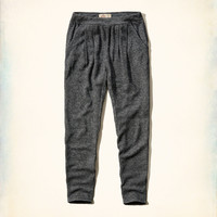 Hollister Pleated Jogger Sweatpants
