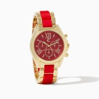 Romanesque Two-Tone Watch | Fashion Jewelry | charming charlie