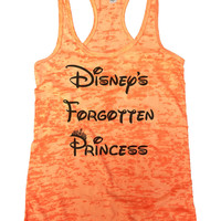 Disney's Forgotten Princess Burnout Tank Top By BurnoutTankTops.com - 804