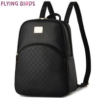 FLYING BIRDS! women backpack Mochila school bags student backpacks bag ladies women's travel bags backpacks Rucksack LS4676fb
