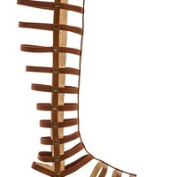 Stuart Weitzman Gladiator Sandal in Brown
