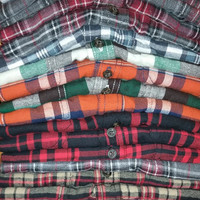 Unisex Flannels -Mystery Flannel Shirts-All Style & Colors