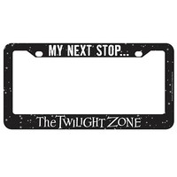 The Twilight Zone My Next Stop License Plate Frame - Bif Bang Pow! - Twilight Zone - Car Accessories at Entertainment Earth